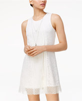 Trixxi Juniors' Lace Dress