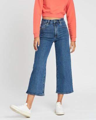 Abrand A Street Aline Crop Jeans