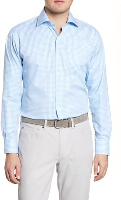 Peter Millar Humboldt Check Button-Up Shirt