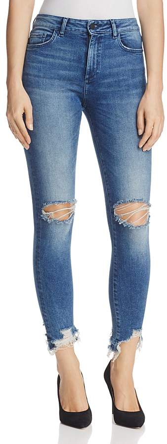 DL1961 Farrow Ankle Instaslim High-Rise Jeans in Laramie