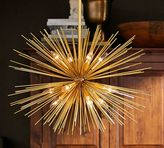 Pottery Barn Explosion Chandelier
