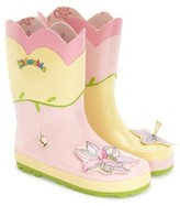 Kidorable Girl's 'Lotus' Waterproof Rain Boot