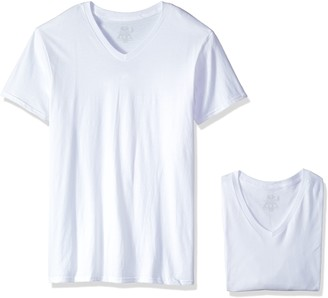 Fruit of the Loom Men's Size 3-Pack Premium Man V-Neck