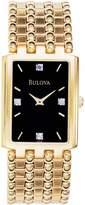Bulova Men's 97F21 Stainless-Steel Swiss Quartz Watch with Dial