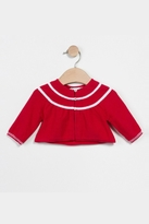 Catimini Red Knitted Cardigan Top