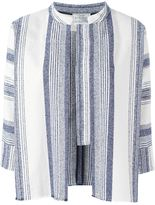 Forte Forte striped woven jacket - women - Cotton/Acrylic/Polyester - 1