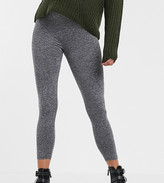 Asos DESIGN Maternity Petite over the bump legging in marl