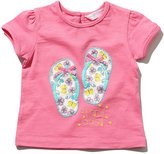 M&Co Flip flop applique t-shirt