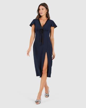 Cooper St Talk To Me High Split Dress