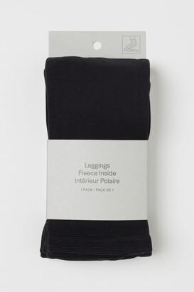 H&M Fleece Leggings