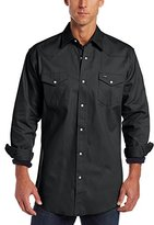 Wrangler Men's Big & Tall Authentic Cowboy Cut Western Work Shirt
