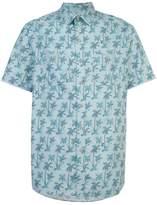 Michael Bastian palm tree shirt