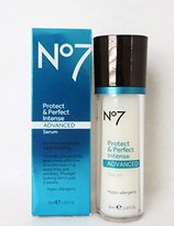 Boots Protect & Perfect Intense Advanced Anti Aging Serum Bottle - 1 oz