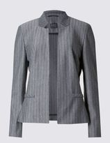 Marks and Spencer Pinstriped Jersey Jacket