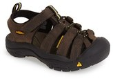 Keen Boy's 'Newport Premium' Water Friendly Sport Sandal
