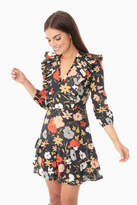 Warm Wild Flowers Brianna Mini Dress
