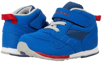 Tsukihoshi Racer-Mid (Toddler/Little Kid) (Royal/Red) Boy's Shoes