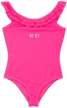 N°21 Ruffled One Piece Swimsuit