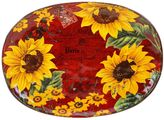 Certified International Sunflower Meadow Oval Serving Platter