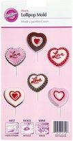 Wilton Lollipop Mold-Hearts 8 Cavity (2 Designs)