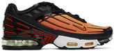 Nike Orange and Black Air Max Plus III Sneakers
