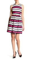 Eliza J Sleeveless Fit & Flare Dress (Petite)