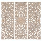 Home Decorators Collection Jaxon 48 in. H x 16 in. W Wood Wall Plaque (Set of 3)