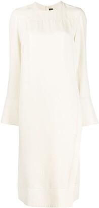 Joseph Long-Sleeved Straight Fit Dress