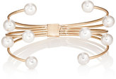 Kenneth Jay Lane WOMEN'S IMITATION-PEARL-EMBELLISHED CUFF