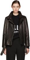 Mackage Black Leather Selenia Jacket