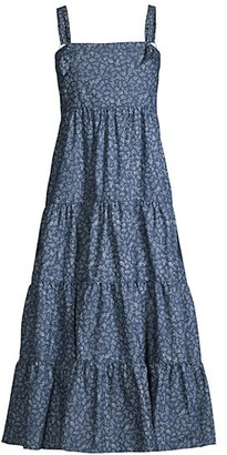 LIKELY Kimber Denim Midi Dress