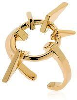 Schield Geometrical Love Brass Ring