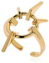 Schield Geometrical Love Brass Ring