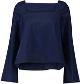 Rebecca Minkoff Frannie cotton-poplin top