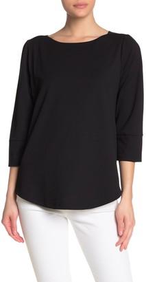 MelloDay 3/4 Length Sleeve Top