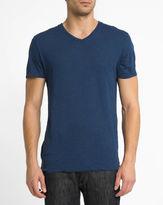 American Vintage Blue Jacksonville V-Neck T-Shirt