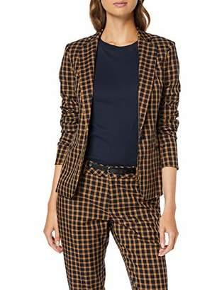 Scotch & Soda Maison Women's Classic Tailored Blazer Suit Jacket,10 (Size: Small)