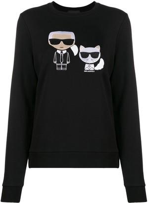 Karl Lagerfeld Paris Ikonik Choupette jumper