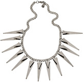 Yochi Design Yochi Heavy Metal Spiky Necklace