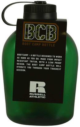 Russell Athletics Boot Camp 1L Water Bottle Black 1L