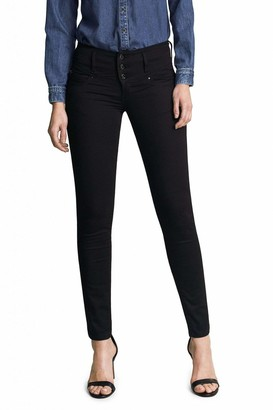 Salsa Mystery Push up Skinny True Black Jeans