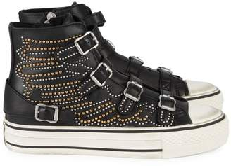 Ash Verso Studded Leather High-Top Sneakers