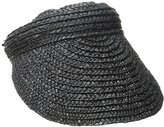 San Diego Hat Company Women's 4-Inch Brim Wheat Straw Visor