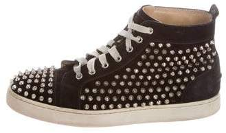Christian Louboutin Louis Spiked Sneakers