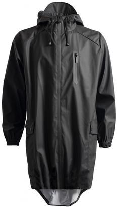 Rains Parka Coat Black - polyester | XS/S | black - Black/Black