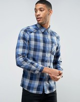 Esprit Shirt in Slim Fit Check