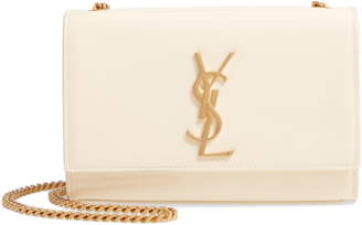 Saint Laurent Small Kate Patent Leather Chain Crossbody Bag
