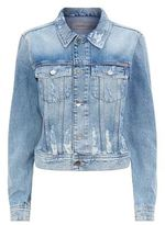 Calvin Klein Jeans Distressed Denim Jacket