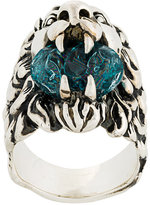 Gucci lion head ring