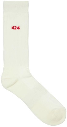 424 Logo Cotton Socks